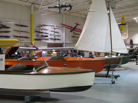 Glenn H. Curtiss Museum : Local Historical Boats