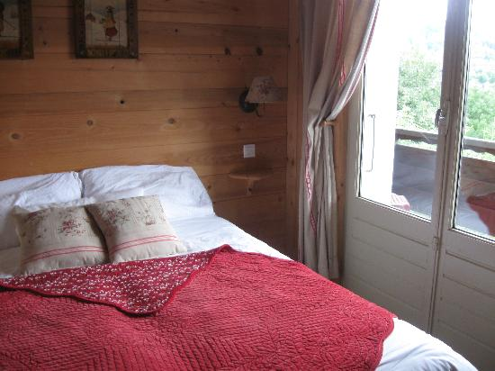 Les Aravis: one of our rooms