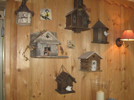 Les Aravis : decorations dining area
