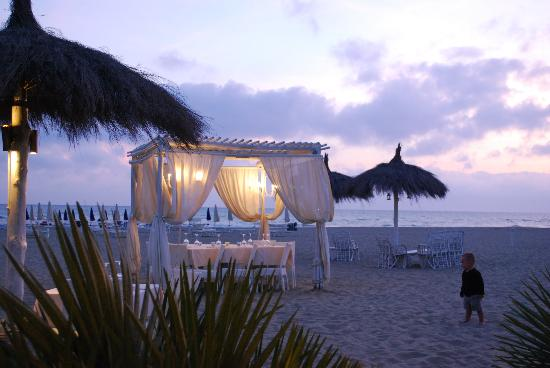 Fiumara Beach: Al tramonto
