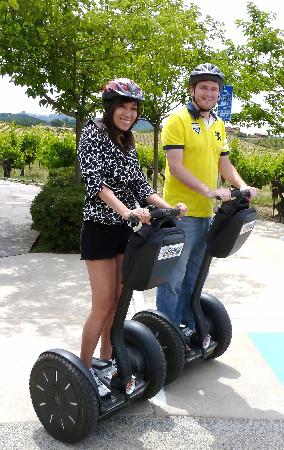 Segway of Healdsburg: on the segways