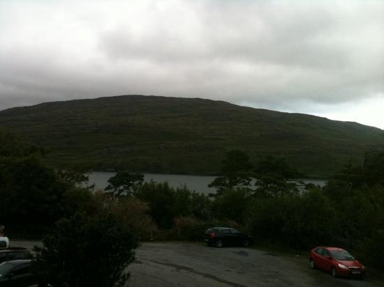 Sleepzone @ The Connemara Hostel : view from the front door of the room