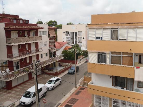 Hotel Gabarda & Gil: view from the balcony