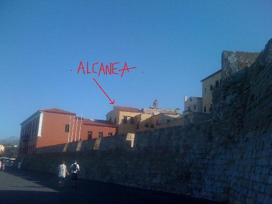 Alcanea Boutique Hotel: view from the sea