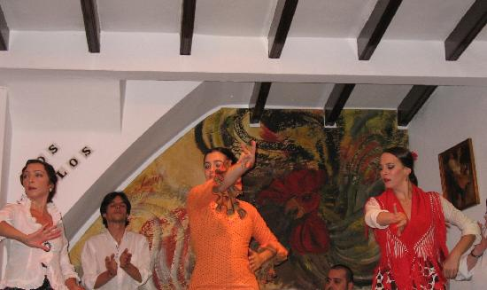 Tablao Flamenco Los Gallos: multiple flamenco artists at Los Gallos