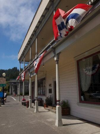 Hotel Ivanhoe: West View.