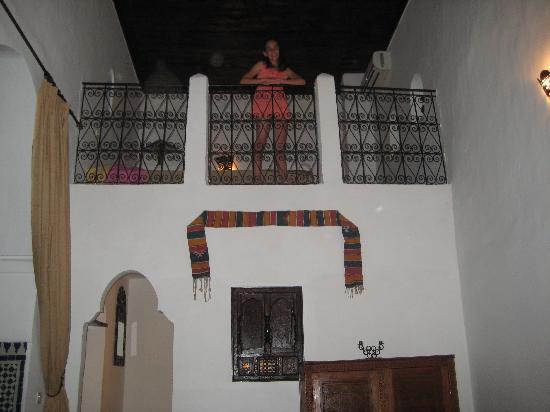 Riad Felloussia: Loft suite very spacious