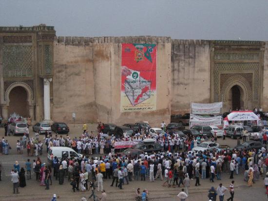 Bab el Mansour - next door to Riad