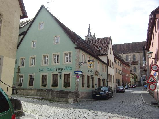 Zum Schwarzen Adler: The hotel front
