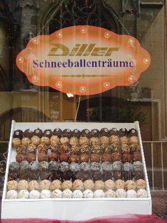 Zum Schwarzen Adler: The local 'thing' to eat, yum!