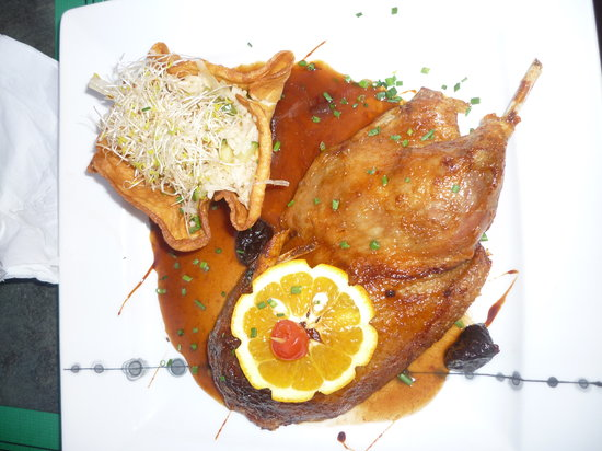 Overcooked Duck