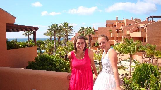 Mar Azul Resort Estepona : UItzicht vanaf het balkon van het appartement