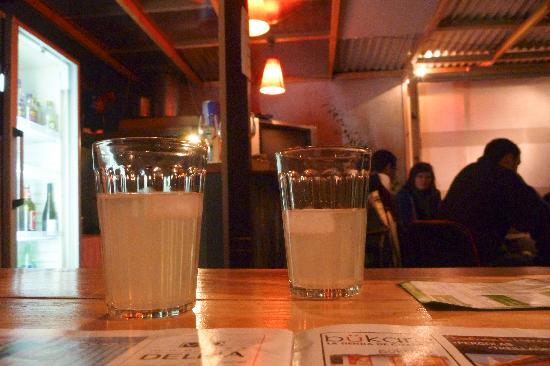 Aji Hostel: Free pisco sour with dinner