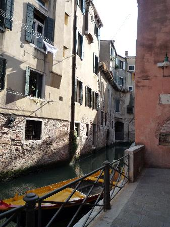 La Locandiera: Our room from across the canal