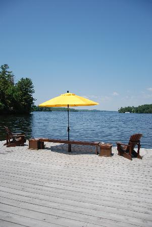 Shamrock Lodge: View from Dock