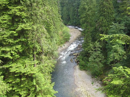 North Vancouver, Kanada: Capilano River