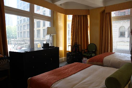 Flatiron Hotel: Our beautiful room