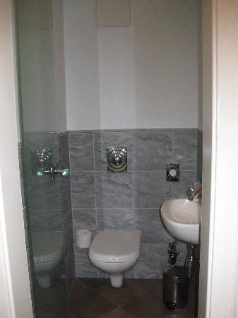 Spirit & Spa Hotel Birkenhof am Elfenhain (Ferienhotel Birkenhof KG): Seperates WC, Juniorsuite Venusmuschel