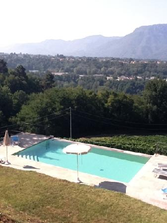 Barga, อิตาลี: Casa del Nando pool & view!