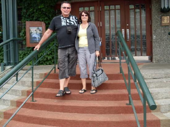 Motel des Cascades: c'est nous qui c'est hébergé là
