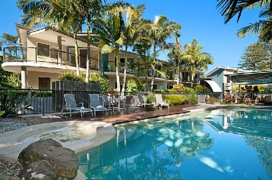 Byron Beachcomber Resort: Swimming Pool & Spa
