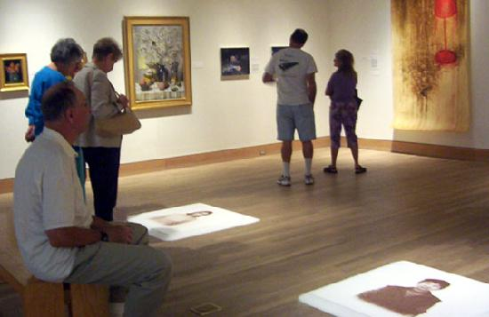 Peninsula Fine Arts Center: Exhibitions change every few months at Pfac.