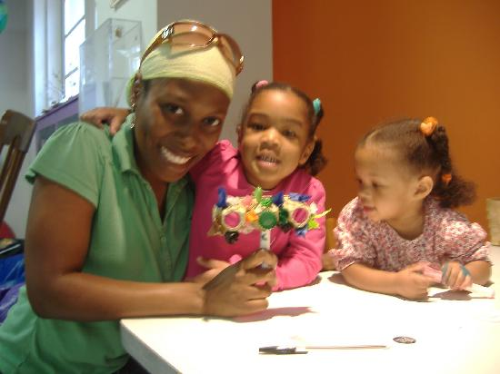 Newport News, VA: Pfac's Hands On For Kids gallery has activities for children of all ages.