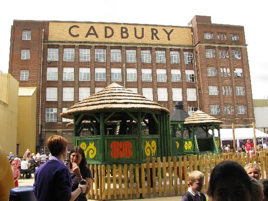 Premier Inn Birmingham Central (Hagley Road) Hotel: Cadbury World - We Liked This!