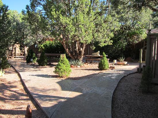 The Lodge at Sedona: One of Several Courtyards