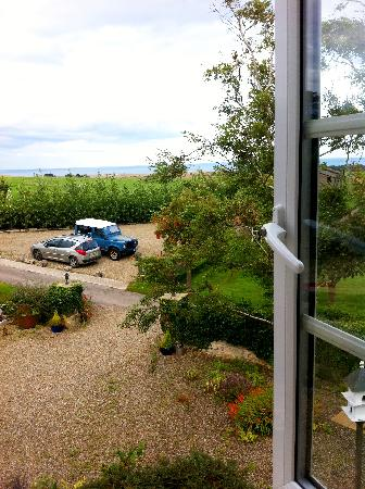 Scalby Hayes Bed & Breakfast: The view from the east window in The Waterside