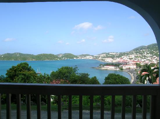 Bluebeard's Castle Resort : View of the Bay from a unit