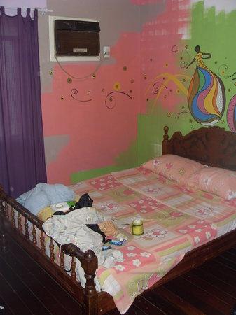 The single room at Supernova Hostel