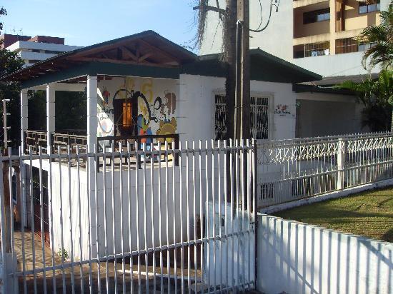 Supernova Hostel: The front of the hostel