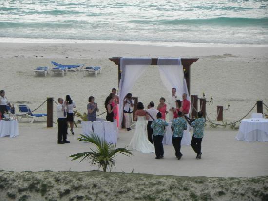Barcelo Punta Cana: Otra boda en el hotel...