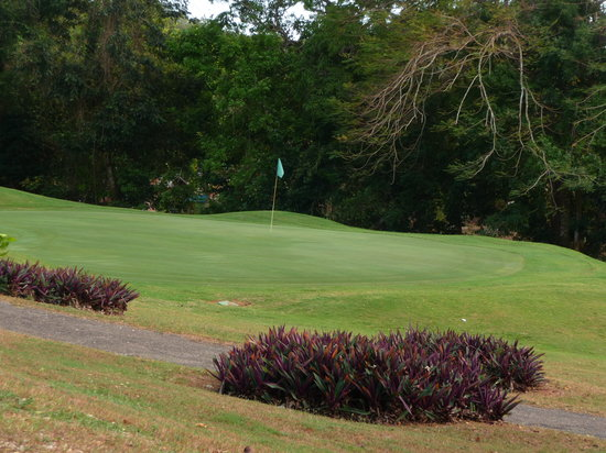 Negril Hills Golf Club : Two ways to play this hole..good luck