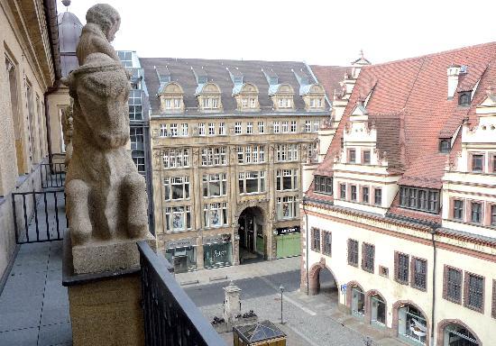Steigenberger Grandhotel Handelshof: View
