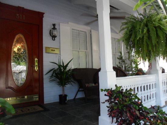 The Duval Inn: Front Porch
