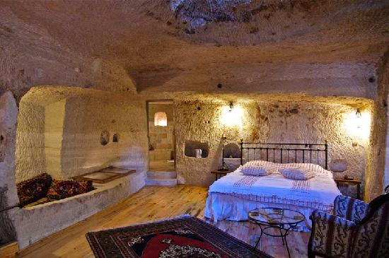 Aydinli Cave House Hotel: One of the newly renovated rooms