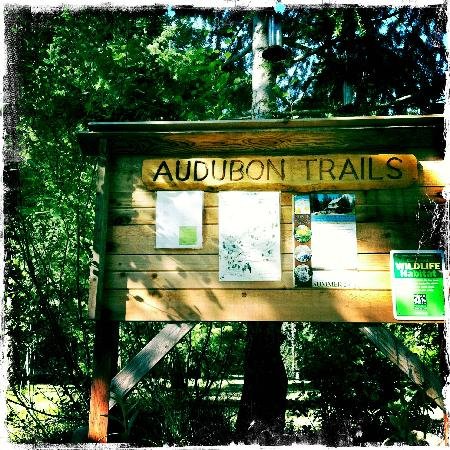 North Cascades Basecamp: Audubon trails on property
