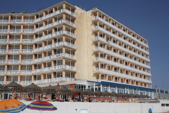Hotel Entremares: distancia hotel-playa
