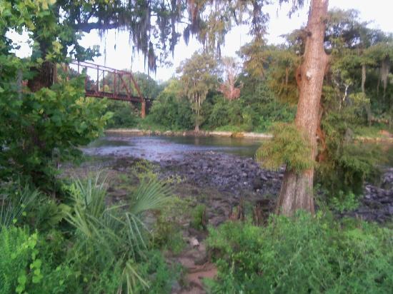 Ray Charles Plaza: Flint River