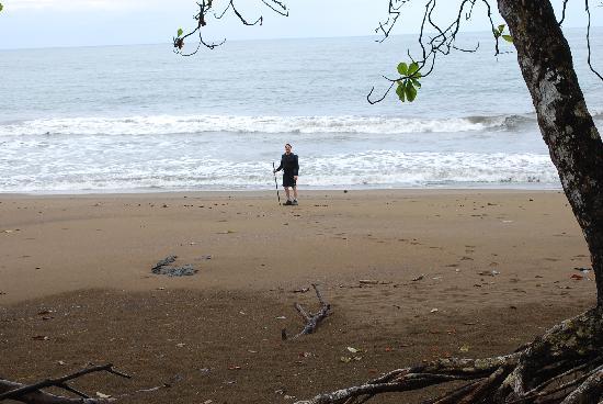 Casita Corcovado: une plage sauvage