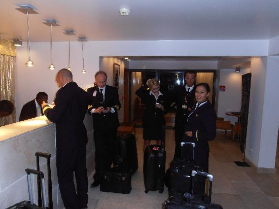 Best Western Palads Hotel: arriving in Congo