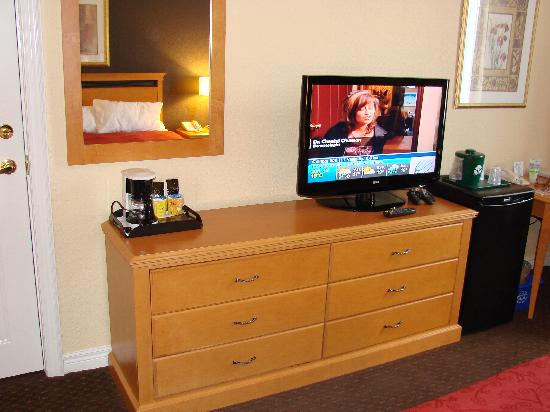 Fairfield Inn & Suites Ottawa Kanata: TV and Dresser