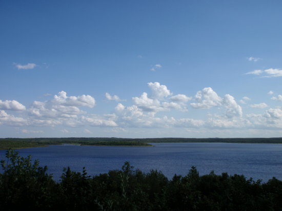 Kenosee Lake, Canadá: Viewpoint near the Visitor Centre