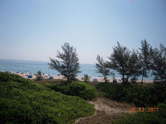 Palm Beach Shores, Φλόριντα: view from our balcony