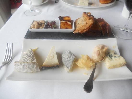 L'Espalier: Cheese tasting