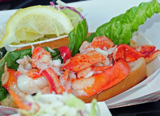 ... their ad picture - Foto di Portland Lobster Co, Portland - TripAdvisor