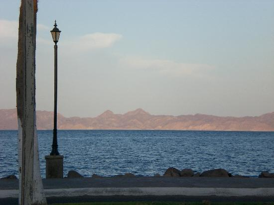 Las Cabanas de Loreto: Just out the door from the hotel