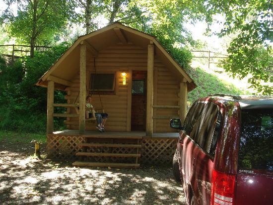 Astoria/Warrenton/Seaside KOA: basic kabin